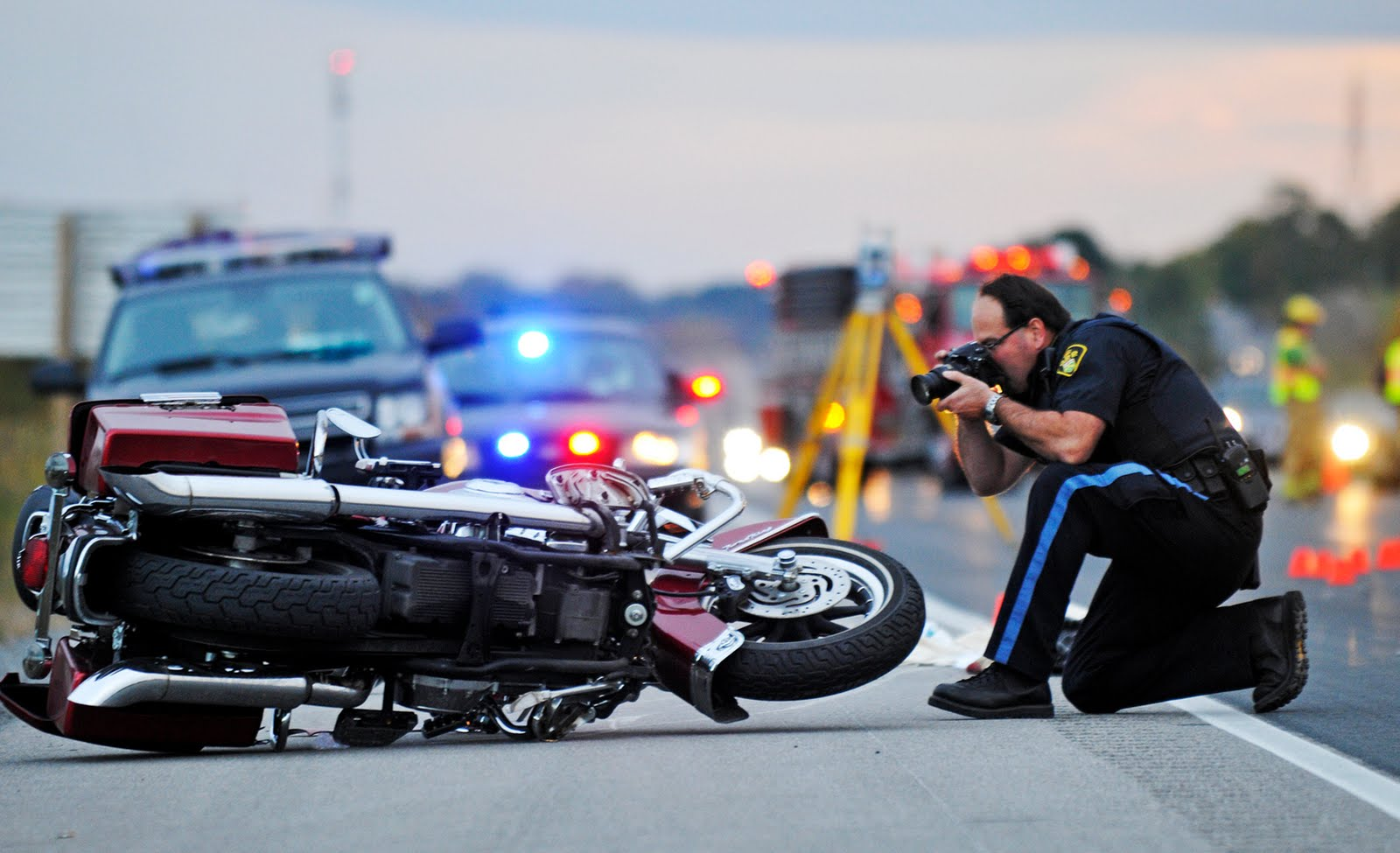 Top Five Motorcycle Accidents In Dallas Tx - Circus