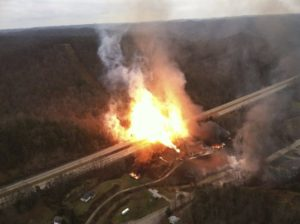 pipeline explosion lawsuit