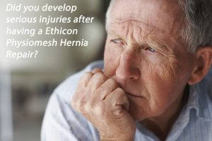 """Ethicon Physiomesh is """"not safe""""according to lawsuit. Ethicon Hernia mesh linked to adhesions, perforation, infection and the need for removal surgery."""