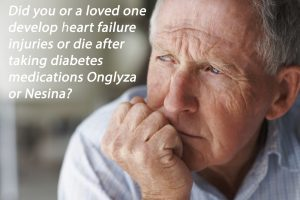 Onglyza Heart Failure Injuries